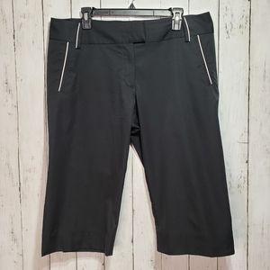 Adidas Women's Black Walking Capris Climalite Pant